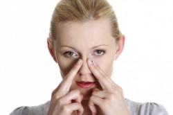 Массаж носовых пазух при заложенности ушей