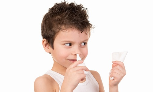 Проблема насморка у ребенка