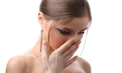 Потеря обоняния при насморке