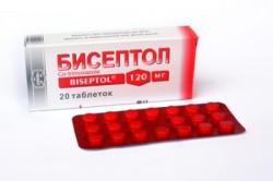 Бисептол для лечения хронического гайморита