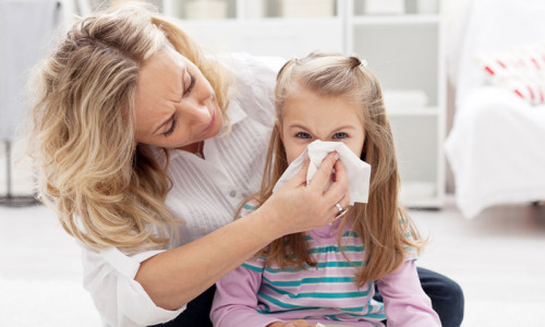Проблема гайморита у детей