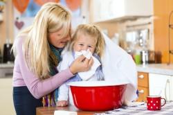 Паровые ингаляции для лечения насморка