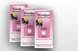 Изофра для лечения хронического гайморита