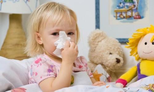 Проблема зеленых соплей у ребенка