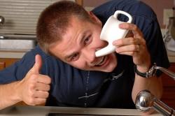 Промывание для лечения заложенности носа