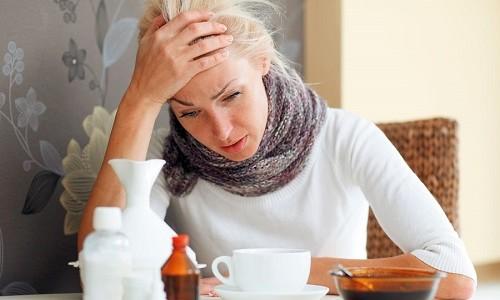 Проблема простуды у человека
