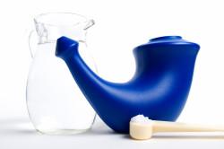 Вспомогательные средства для промывания носа