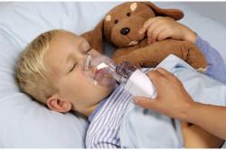 Лечебные ингаляции при насморке у ребенка