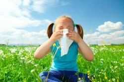 Аллергия как причина насморка у детей