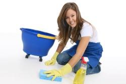 Польза влажной уборки дома при насморке