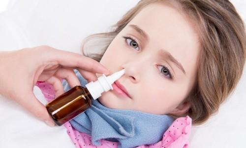 Проблема сильного насморка у ребенка