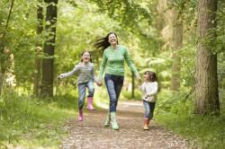 Прогулка на свежем воздухе - профилактика ринита