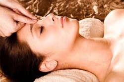 Точечный массаж для лечения гайморита