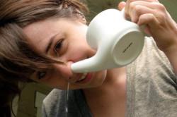 Промывание носа раствором морской воды при беременности